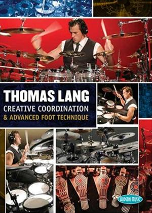 Rent Thomas Lang: Creative Co-ordination and Advanced Foot Technique Online DVD Rental