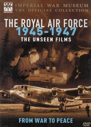 Rent The Imperial War Museum: The Royal Air Force 1945-1947 The Unseen Films Online DVD Rental