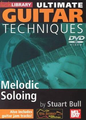 Rent Ultimate Guitar Techniques: Melodic Soloing Online DVD Rental