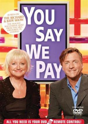 Rent Richard and Judy's: You Say We Pay: Interactive Game Online DVD Rental