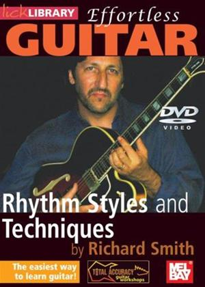Rent Effortless Guitar: Rhythm Styles and Techniques Online DVD Rental