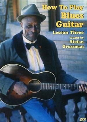 Rent How to Play Blues Guitar Lesson 3 Online DVD Rental