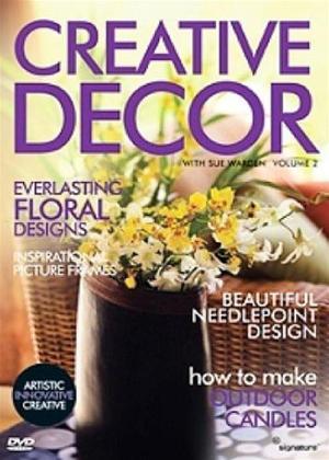 Rent Creative Decor with Sue Warden: Vol.2 Online DVD Rental