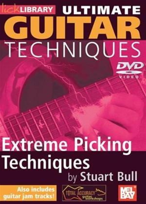 Rent Ultimate Guitar Techniques: Extreme Picking Techniques Online DVD Rental
