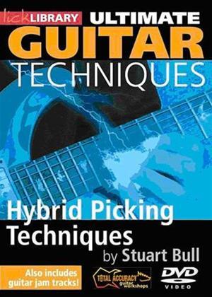 Rent Ultimate Guitar Techniques: Hybrid Picking Online DVD Rental