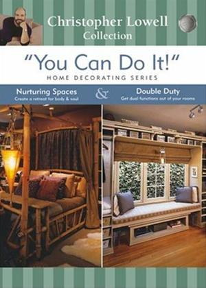 Rent You Can Do It: Home Decorating: Nuturing Spaces and Double Duty Online DVD Rental