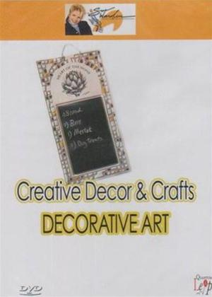 Rent Creative Decor and Crafts: Decorative Art Online DVD Rental