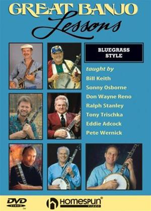 Rent Great Banjo Lessons Online DVD Rental