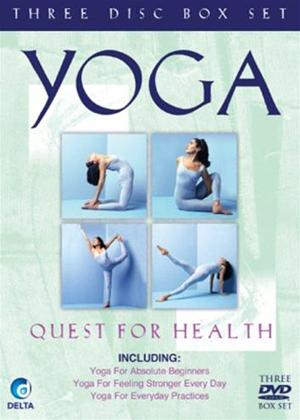 Rent Yoga: Quest for Health Online DVD Rental