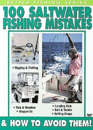 Rent 100 Saltwater Fishing Mistakes and How to Avoid Them Online DVD Rental