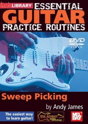 Rent Essential Guitar Practice Routines: Sweep Picking Online DVD Rental