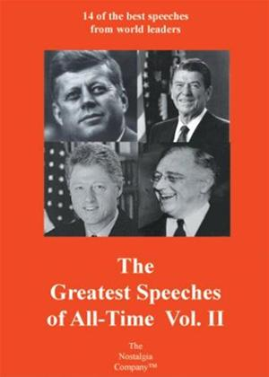 Rent The Greatest Speeches of All-Time: Vol.2 Online DVD Rental