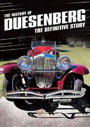 Rent The History of Duesenberg Online DVD Rental