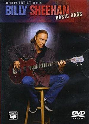 Rent Billy Sheehan: Basic Bass Online DVD Rental