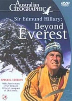 Rent Sir Edmund Hillary: Beyond Everest Online DVD Rental