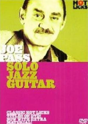 Rent Joe Pass: Solo Jazz Guitar Online DVD Rental