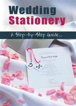 Rent Wedding Stationary a Step by Step Guide Online DVD Rental