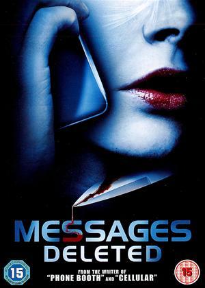 Rent Messages Deleted Online DVD Rental