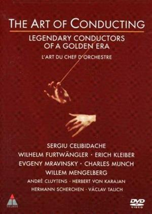 Rent Art of Conducting: Legendary Conductors of a Golden Era Online DVD Rental