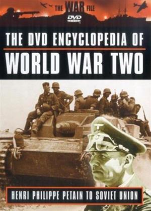 Rent Encyclopaedia of World War 2: Vol.9: Henri Philippe Petain to Soviet Union Online DVD Rental