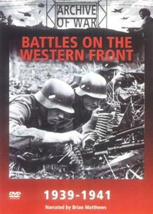 Rent Battles on the Western Front 1939-1941 Online DVD Rental
