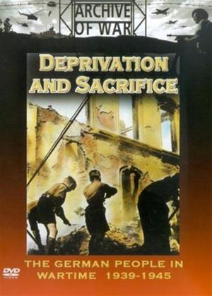 Rent Deprivation and Sacrifice: The German People in Wartime 1939 - 1945 Online DVD Rental