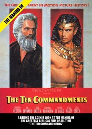 Rent The Making of the Ten Commandments Online DVD Rental