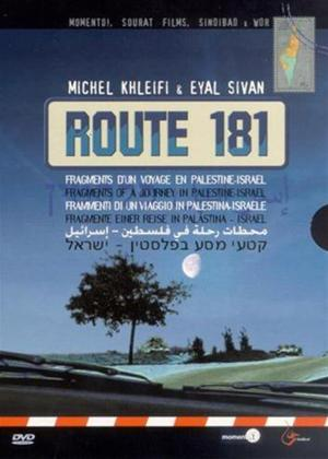 Rent Route 181: Fragments of a Journey in Palestine-Israel Online DVD Rental