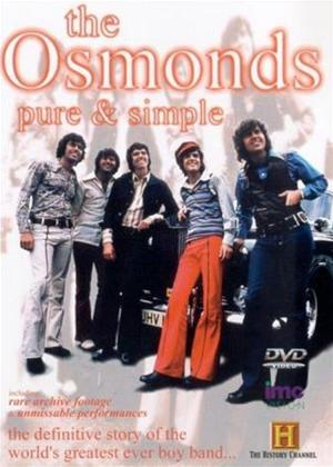 Rent The Osmonds: Pure and Simple Online DVD Rental