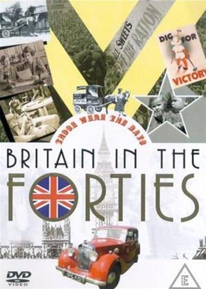 Rent Those Were the Days: Britain in the 1940s Online DVD Rental