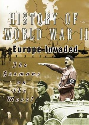 Rent History of World War 2: Europe Invaded Online DVD Rental