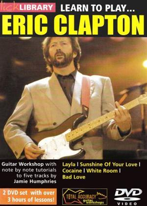 Rent Learn to Play: Eric Clapton Online DVD Rental