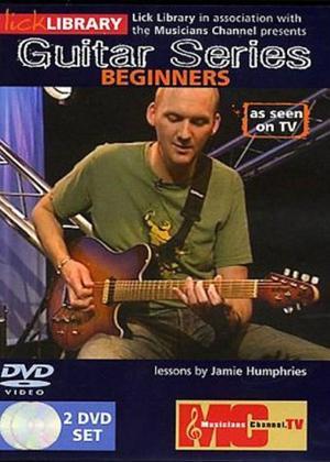 Rent Lick Library: Guitar Series: Beginners Online DVD Rental