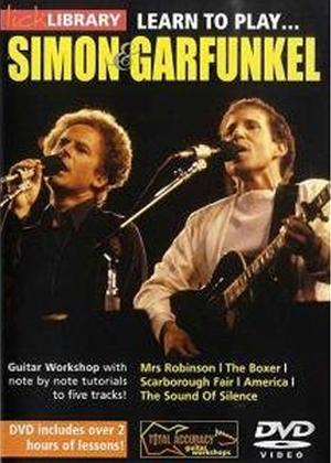Rent Lick Library: Learn to Play Simon and Garfunkel Online DVD Rental