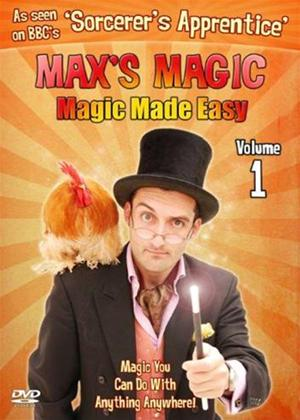 Rent Max's Magic: Magic Made Easy: Vol.1 Online DVD Rental