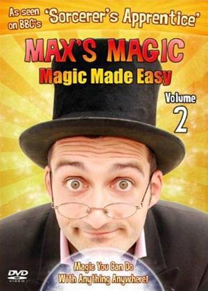 Rent Max's Magic: Magic Made Easy: Vol.2 Online DVD Rental