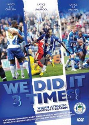 Rent We Did It 3 Times! Wigan: Season Review 09/10 Online DVD Rental