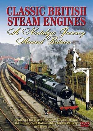 Rent Classic British Steam Trains: A Nostalgic Journey Around Britain Online DVD Rental