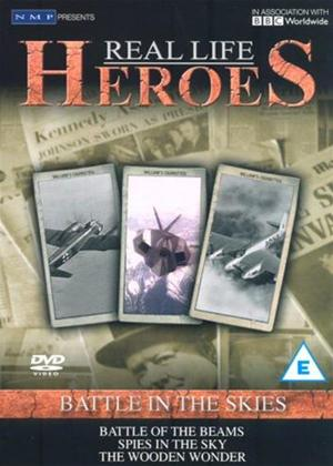 Rent Real Life Heroes: Battle in the Skies Online DVD Rental