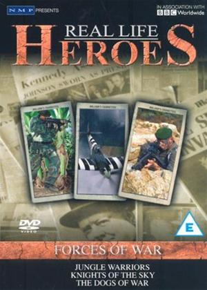Rent Real Life Heroes: Forces of War Online DVD Rental