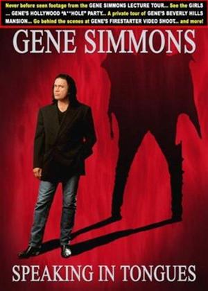Rent Gene Simmons: Speaking in Tongues Online DVD Rental