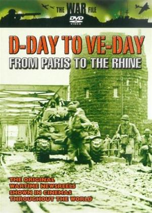 Rent D-Day to VE-Day: From Paris to the Rhine Online DVD Rental