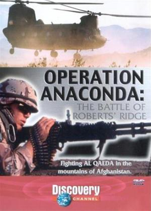 Rent Operation Anaconda: The Battle of Roberts' Bridge Online DVD Rental