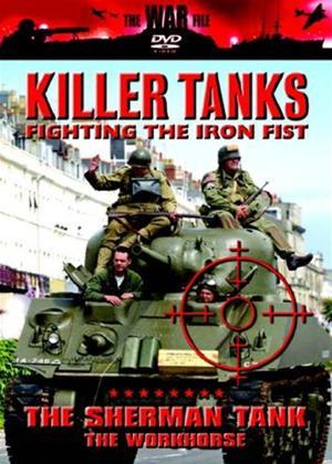 Rent Killer Tanks: The Sherman Tank Online DVD Rental