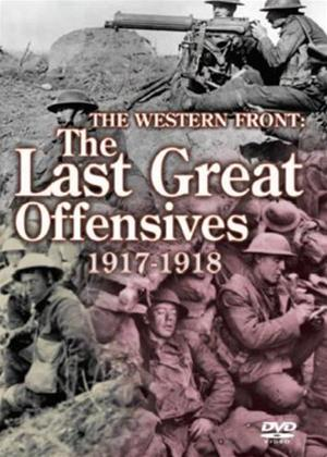 Rent The Western Front: The Last Great Offensives 1917-1918 Online DVD Rental