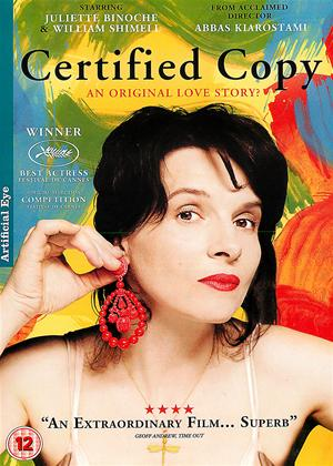 Rent Certified Copy (aka Copie Conforme) Online DVD Rental