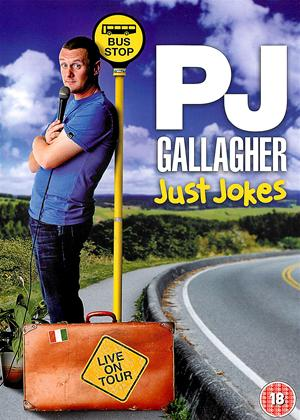 Rent P J Gallagher Live: Just Jokes Online DVD Rental