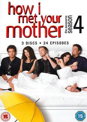 Rent How I Met Your Mother: Series 4 Online DVD Rental