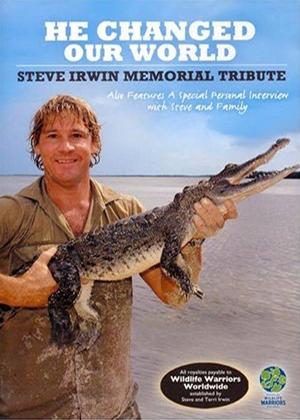 Rent Steve Irwin Memorial Tribute Online DVD Rental