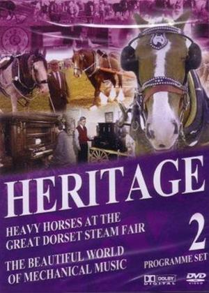 Rent Heritage: Heavy Horses at the Great Dorset Steam Fair Online DVD Rental